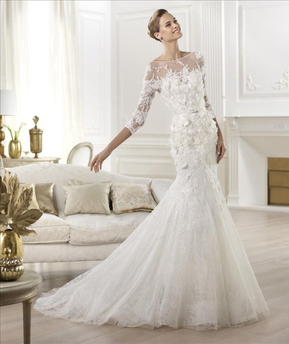 Elie Saab bridal dress Cygnus