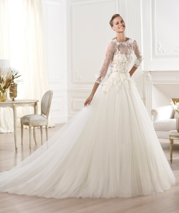 Elie Saab bridal dress Lacerta